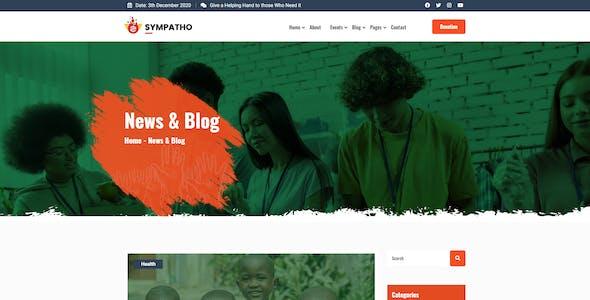 Sympatho - Non Profit & Charity HTML5 Template