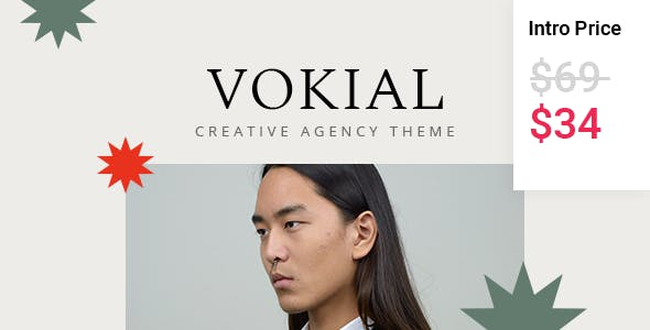 Vokial - Creative Agency Theme