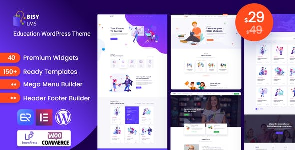Bisy - Education WordPress Theme