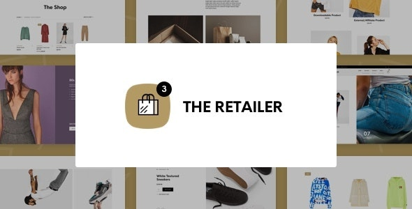 The Retailer - eCommerce WordPress Theme for WooCommerce - WooCommerce eCommerce