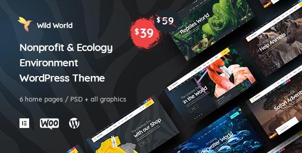 WildWorld | Nonprofit & Ecology WordPress Theme - Environmental Nonprofit