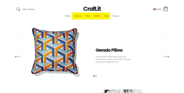 Craftit Artisan Shopping Theme