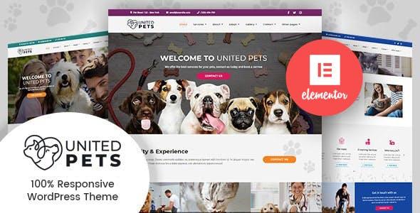 United Pets - Pet Shop & Veterinary WordPress Theme