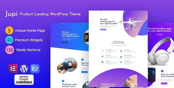 Jupi - Product Landing WordPress Theme