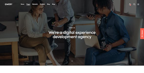 Qwery - Multi-Purpose Business WordPress Theme + RTL