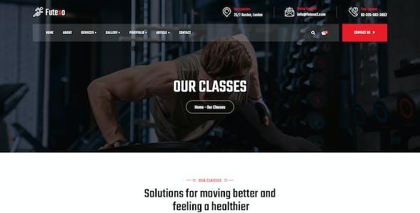 Futexo - Gym PSD Template