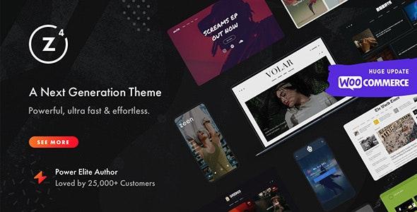 Zeen v4.0.4 – Next Generation Magazine WordPress