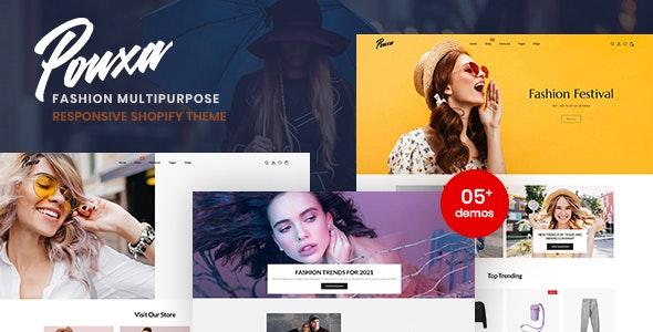 Pouxa - Fashion Multipurpose Responsive Shopify Theme - Shopify eCommerce