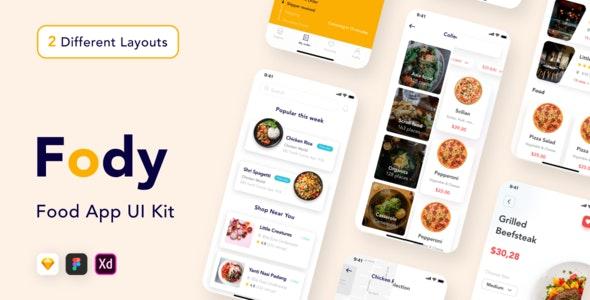 Fody - Best Food Order Mobile App - Food Retail