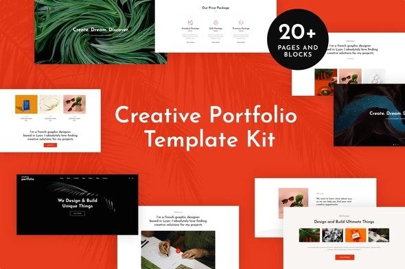 Helion - Creative Portfolio Elementor Template Kit - Creative & Design Elementor