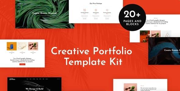 Helion - Creative Portfolio Elementor Template Kit