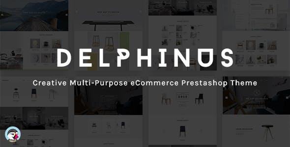Delphinus - Creative Multi-Purpose Prestashop Theme