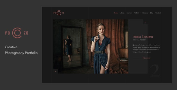 POZO - Photography Portfolio WordPress Theme - Photography Creative
