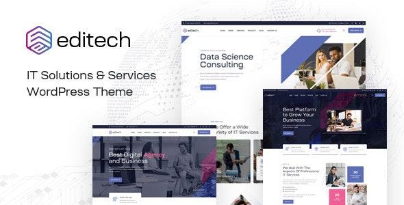 Editech - Corporate Business WordPress Theme - Business Corporate