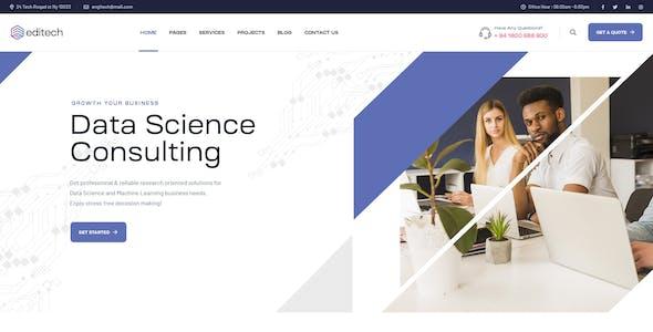 Editech - Corporate Business WordPress Theme
