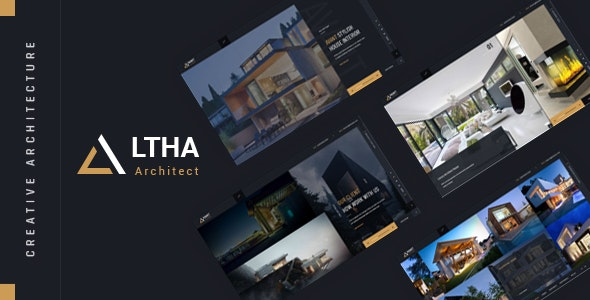 Altha - Creative Architecture HTML Template - Business Corporate