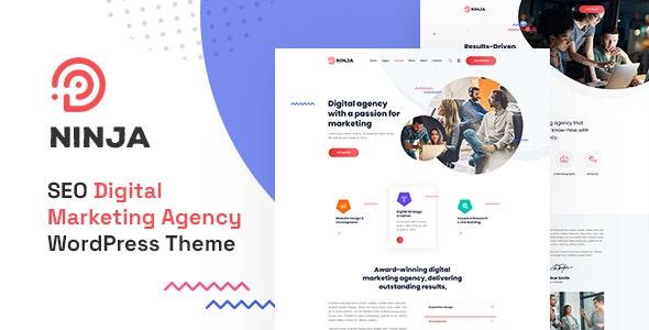 Ninja - SEO & Digital Marketing WordPress Theme - Marketing Corporate