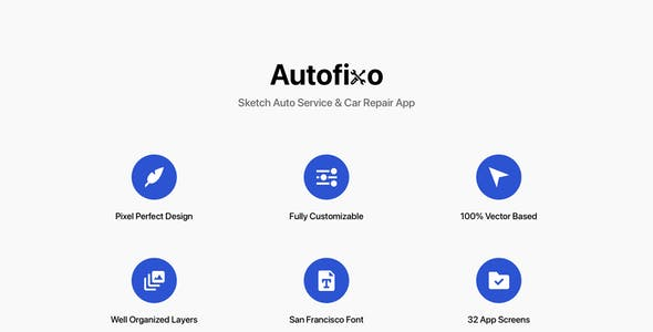 Autofixo - Sketch Auto Service & Car Repair App