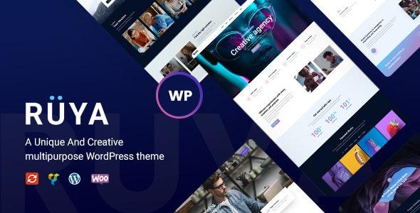 Ruya - Creative Multi-Purpose WordPress Theme - Creative WordPress