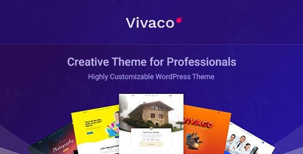 Vivaco | Multipurpose Creative WordPress Theme - Business Corporate