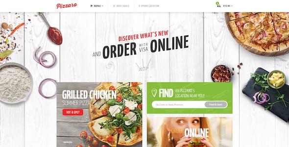 Pizzaro - Fast Food & Restaurant WooCommerce Theme