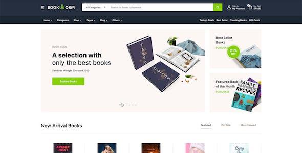 Bookworm - Bookstore & Bookshop WooCommerce Theme