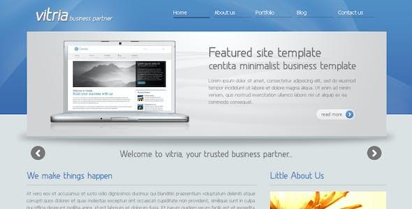 Vitria - Clean Business Template 2
