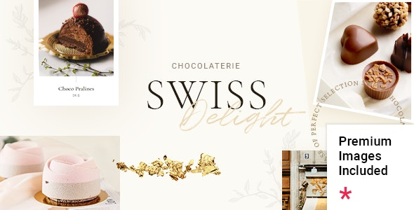 Swiss Delight - Chocolate & Cake Shop Theme - Food Retail