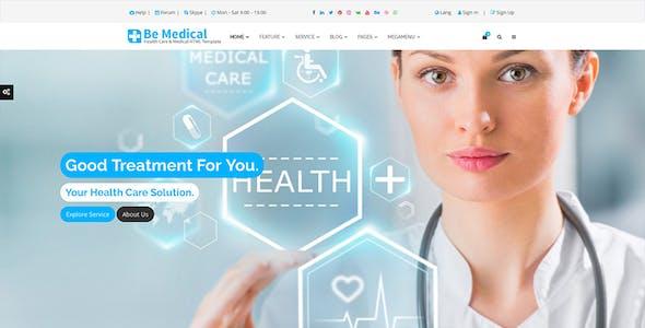 Hekim's Health Care & Medical Hospital HTML Template