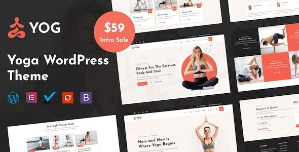 Yog - Yoga WordPress Theme