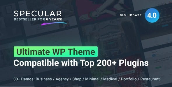 Specular - Business WordPress Multi-Purpose
