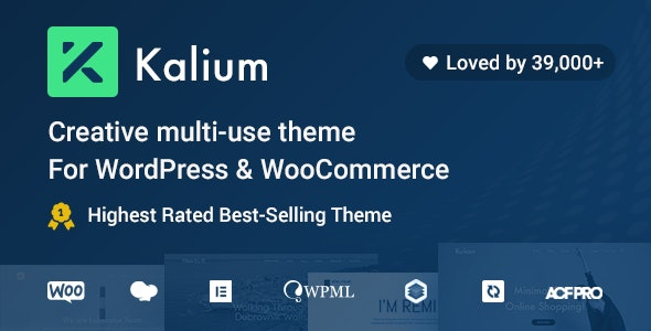 Kalium - Creative Multipurpose Theme for WordPress and WooCommerce - Portfolio Creative