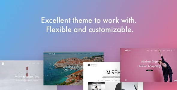 Kalium - Creative Multipurpose Theme for WordPress and WooCommerce