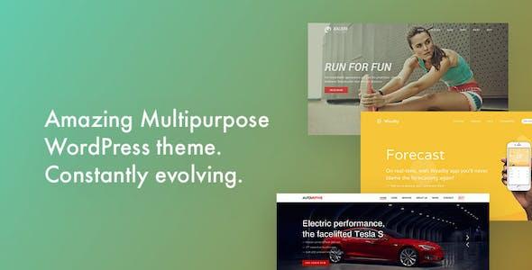 Kalium - Creative Multipurpose Theme for WordPress and WooCommerce