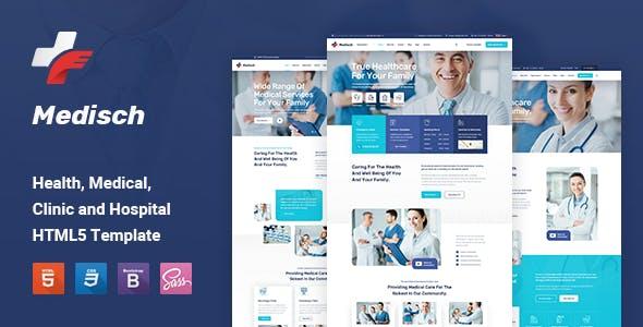 Medisch - Health & Medical HTML5 Template