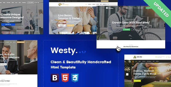 Westy - Responsive Multi-Purpose Html Template