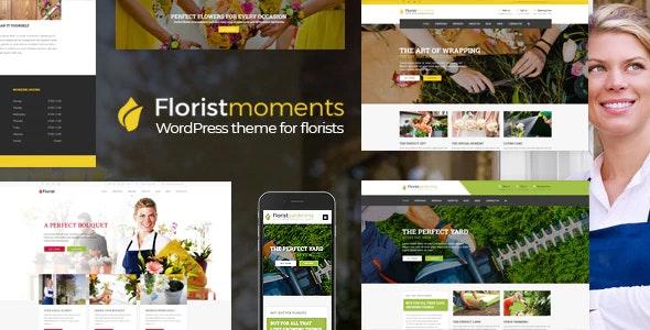 Florist - Florist & Landscaping WP Theme - Business Corporate