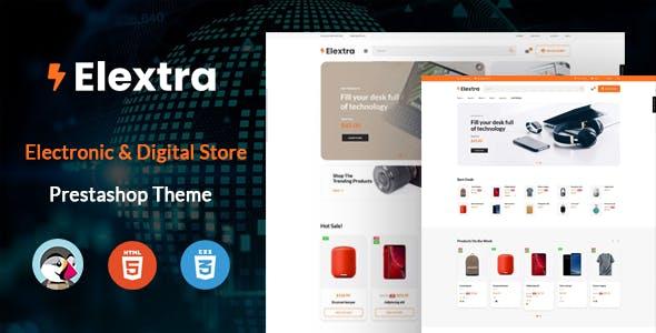 Elextron - Multipurpose Prestashop Electronics Theme