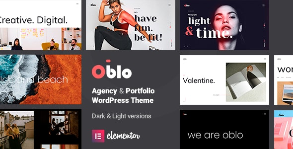Oblo - Creative Agency & Portfolio Theme - Portfolio Creative