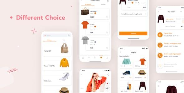 Veery E-Commerce UI Kit