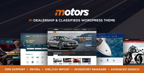 Motors - Car Dealer, Rental & Classifieds WordPress theme