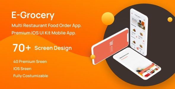 E-Grocery | Food Order App. - Food Retail