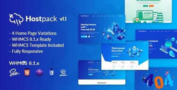 Hostpack | Responsive Hosting HTML Template - Hosting Technology