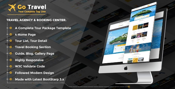 Travel Html Template - Travel Retail