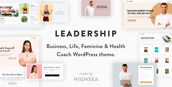 Leadership — Coach WordPress Theme - Education WordPress