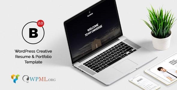 Blanco - Creative Resume & Portfolio - Portfolio Creative