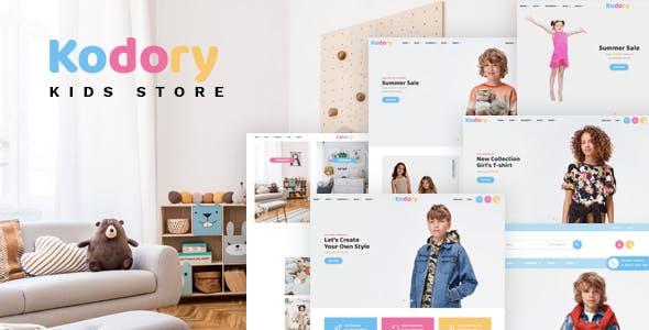 Kodory - Kids Store HTML Template