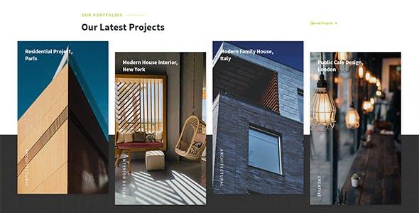 Visva - Architecture WordPress Theme