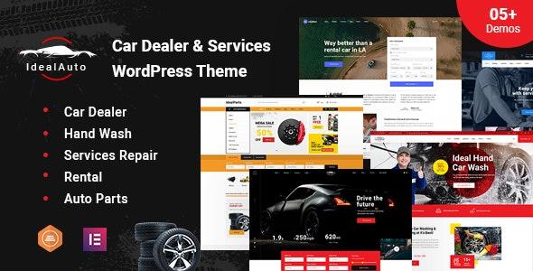 IdealAuto - Car Dealer & Services WordPress Theme - Business Corporate