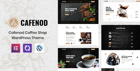 Cafenod - Coffee Shop WordPress Theme